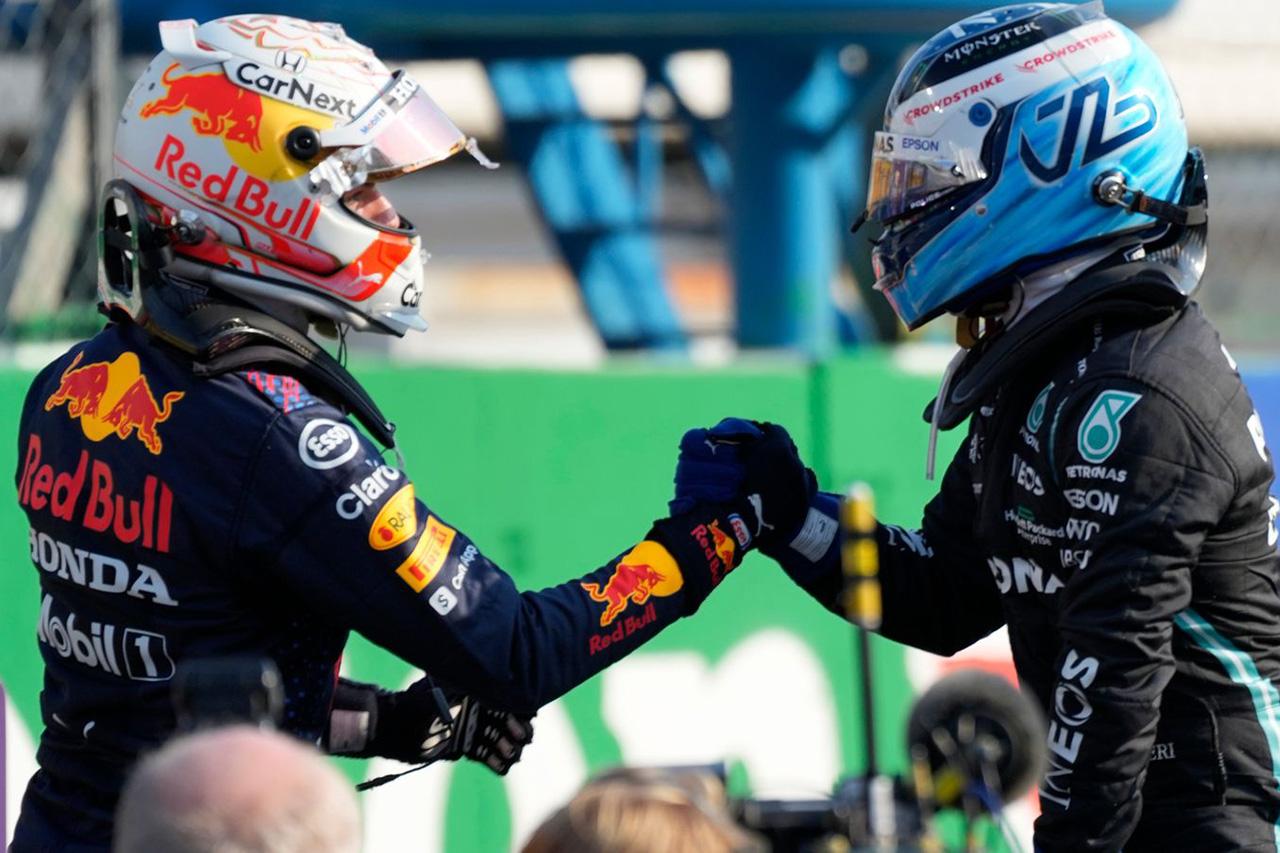 F1イタリアGP スプリント予選:2位のフェルスタッペンがポールに昇格!勝利はボッタス