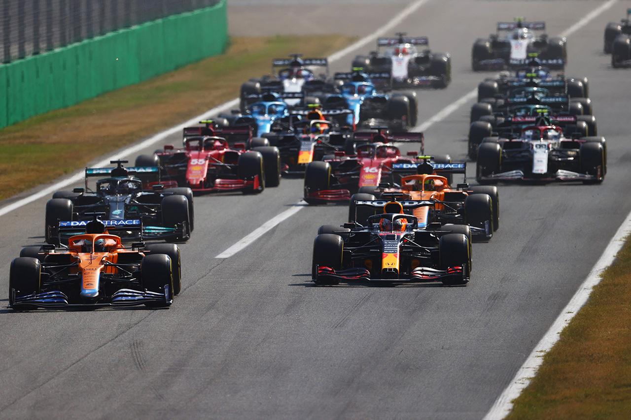 【速報】 F1イタリアGP 決勝 結果:リカルド優勝でマクラーレンが1-2!ホンダF1勢は3台がリタイア