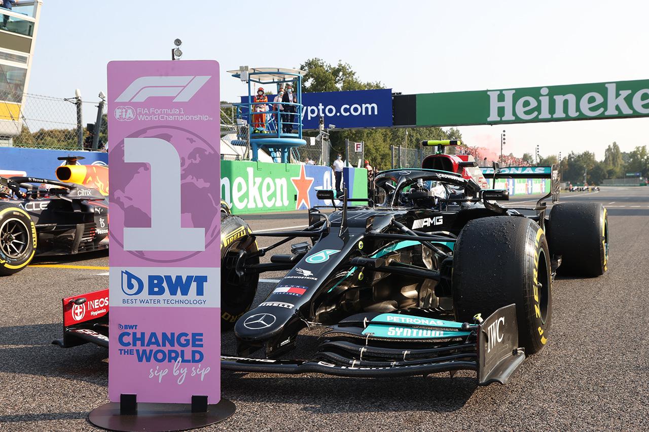 2021年 F1イタリアGP 決勝:スターティンググリッド