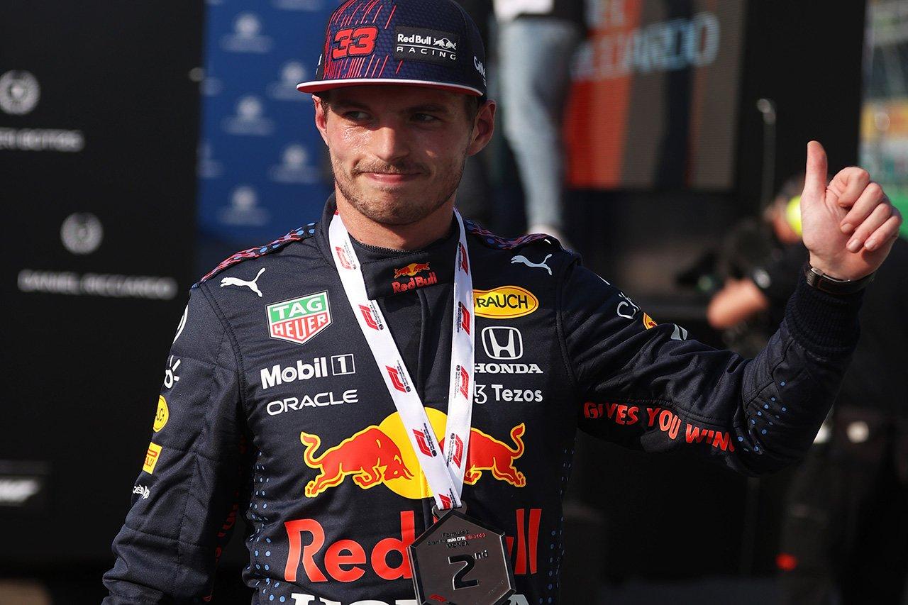 レッドブル・ホンダのマックス・フェルスタッペン 「ここで先頭からスタートできるのはポジティブ」/ F1イタリアGP スプリント予選