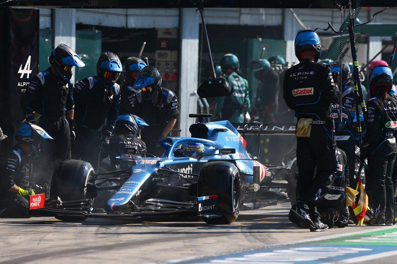 フェルナンド・アロンソ、8位入賞「ポテンシャルを最大限に引き出せた」 / F1イタリアGP 結果