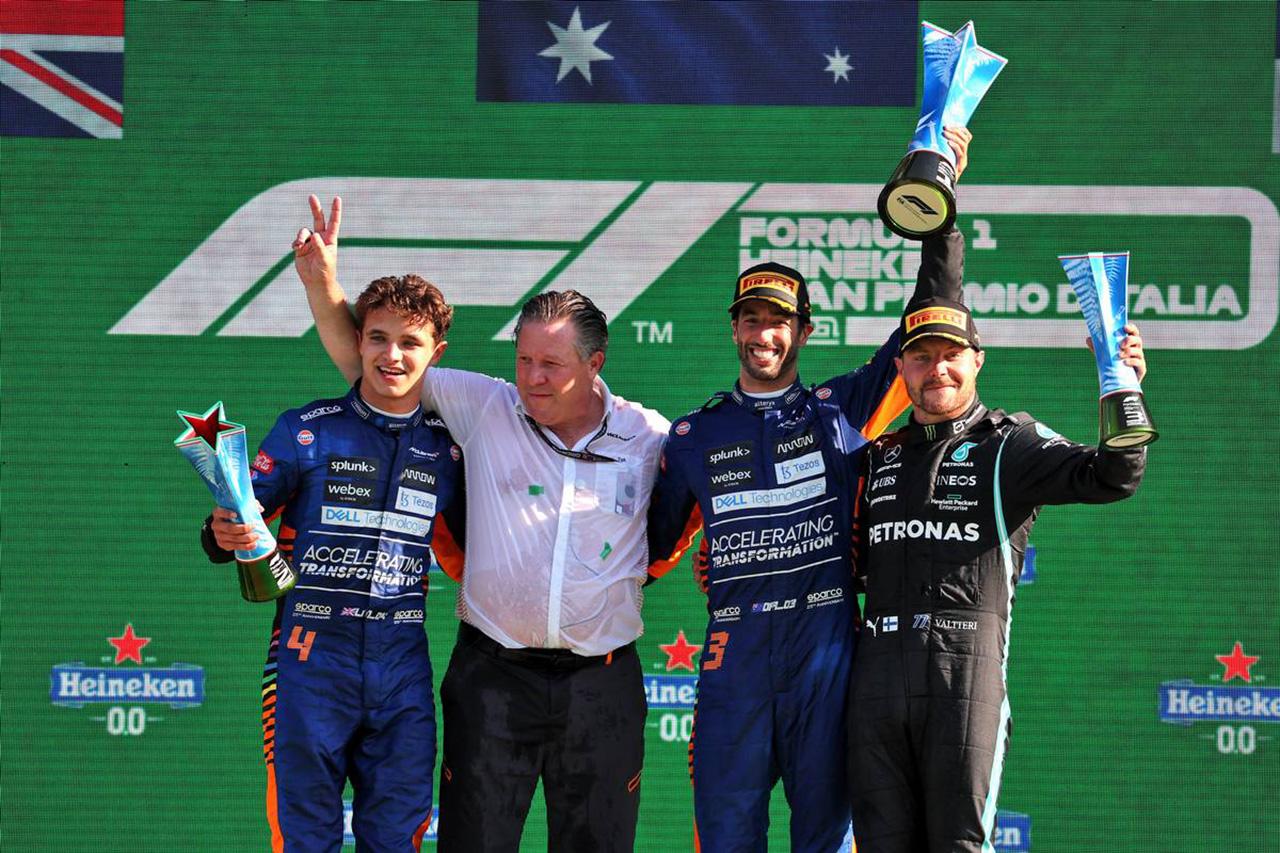 2021年 F1イタリアGP 決勝:トップ10 ドライバーコメント