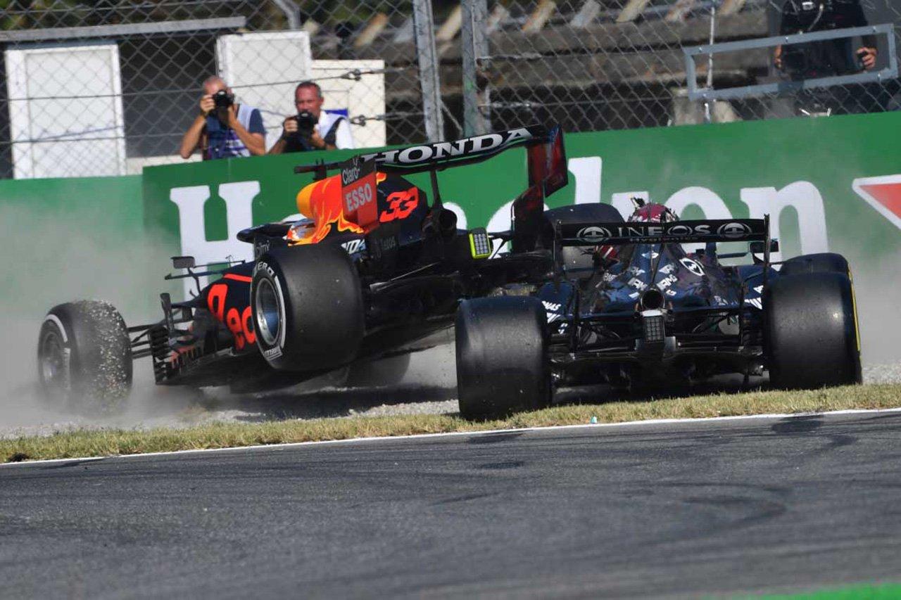 ルイス・ハミルトン 「フェルスタッペンは何が起こるか分かっていた」 / F1イタリアGP 決勝