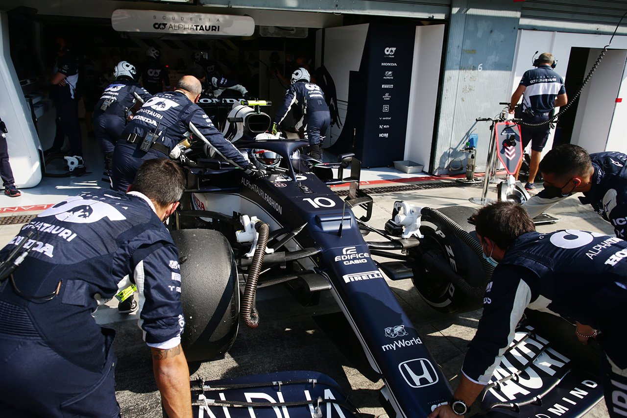 ホンダF1 田辺TD、3台リタイアに「ホンダ勢にとっては非常に厳しい結果」 / F1イタリアGP 決勝