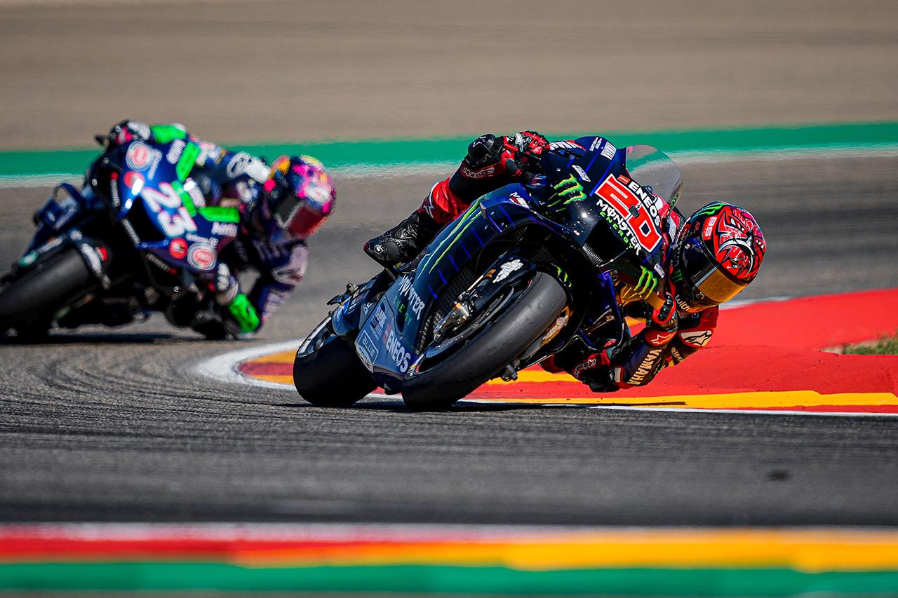 MotoGP:ヤマハ 2021年 第13戦 アラゴンGP 決勝レポート