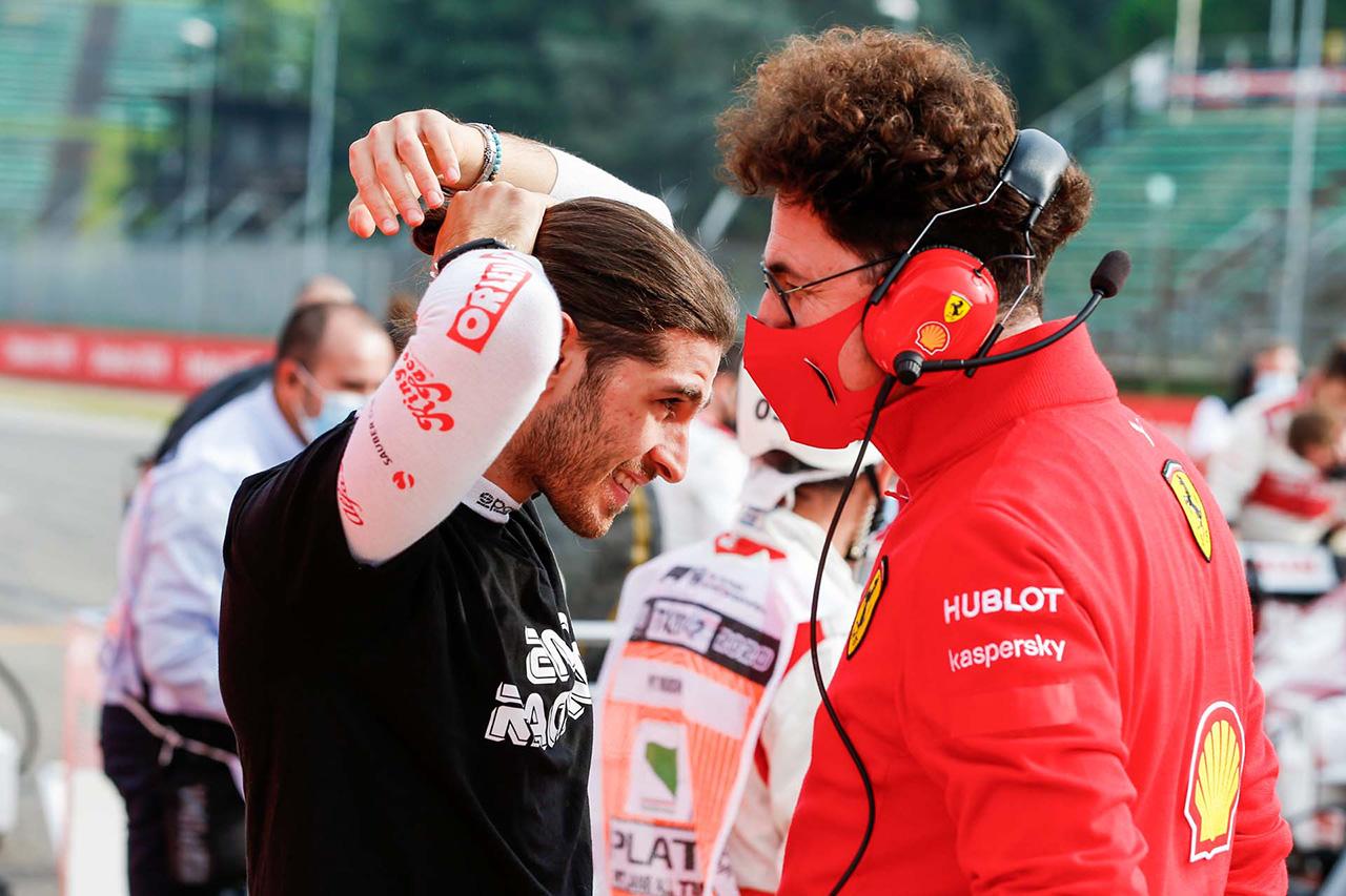 フェラーリF1代表 「アルファロメオのドライバー選定への影響力はない」