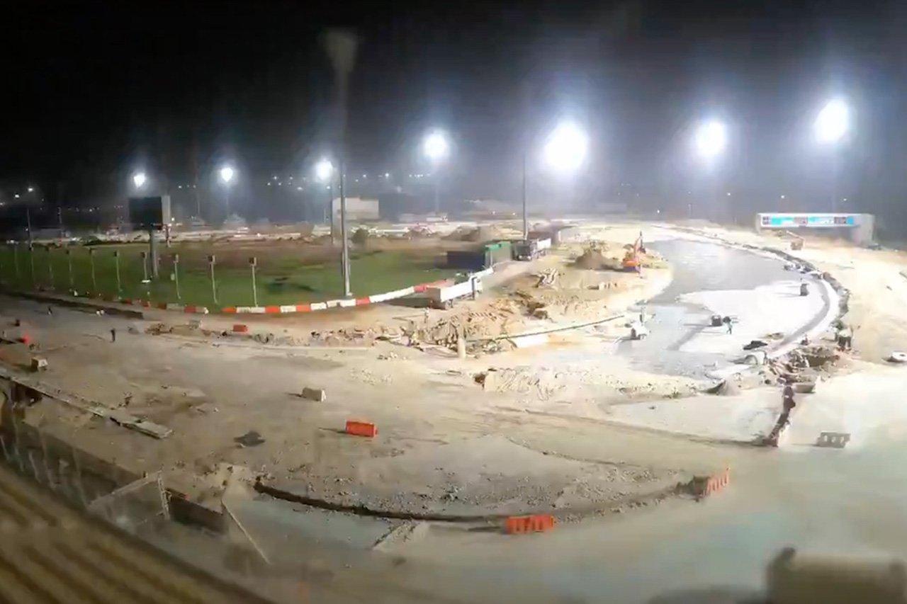 【動画】 ヤス・マリーナ・サーキット、改修工事の進捗を公開/ F1アブダビGP
