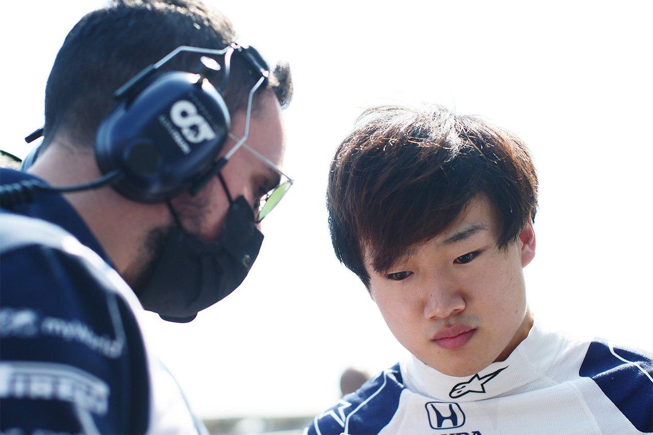 角田裕毅 「アルファタウリ・ホンダF1は厳しい状況から必ず巻き返す」