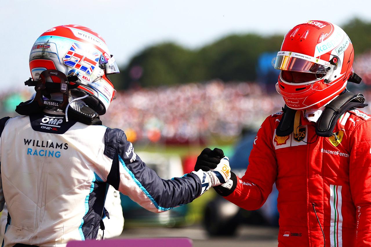 フェラーリF1のシャルル・ルクレール、移籍のラッセルに助言 「王者から学び、楽しめ」
