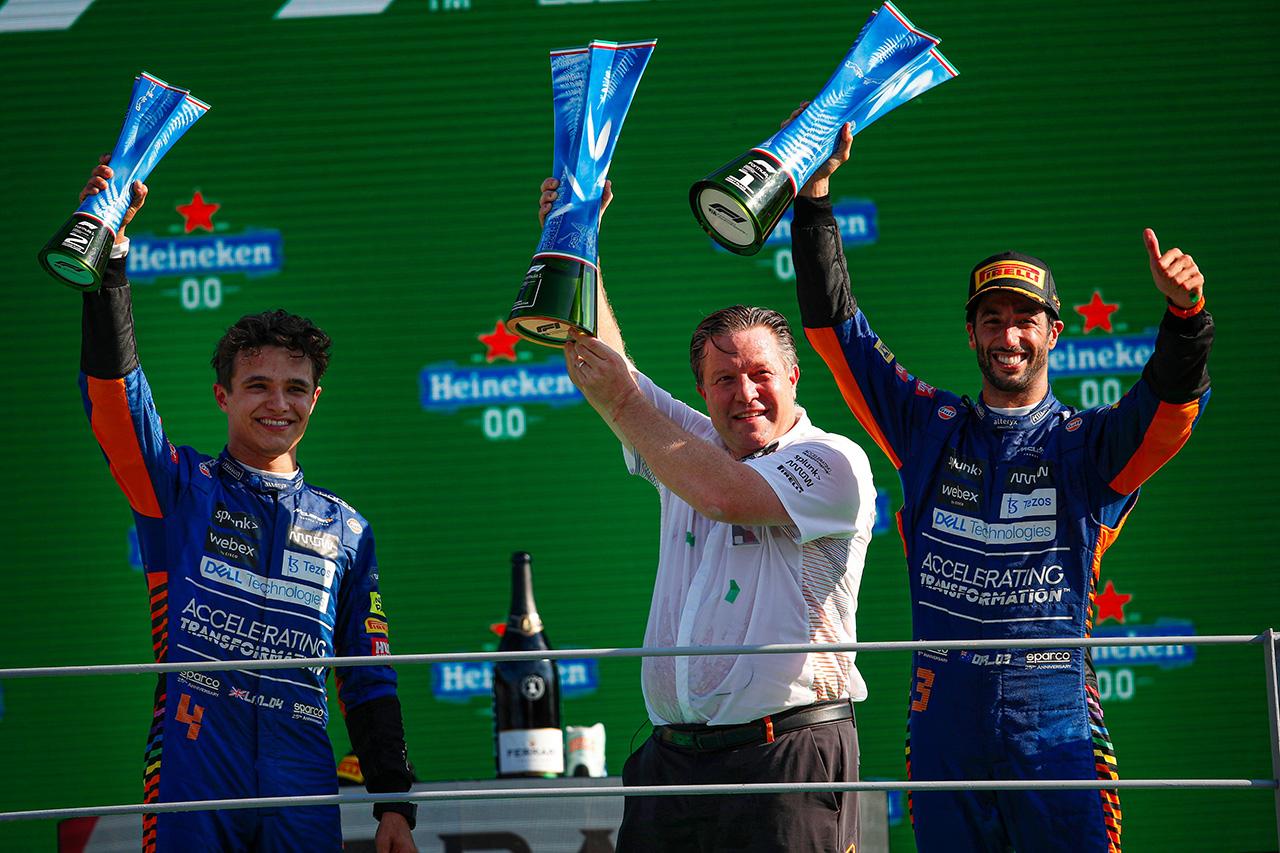 マクラーレンF1 「フェラーリとの3位争いはまだまだ終わっていない」