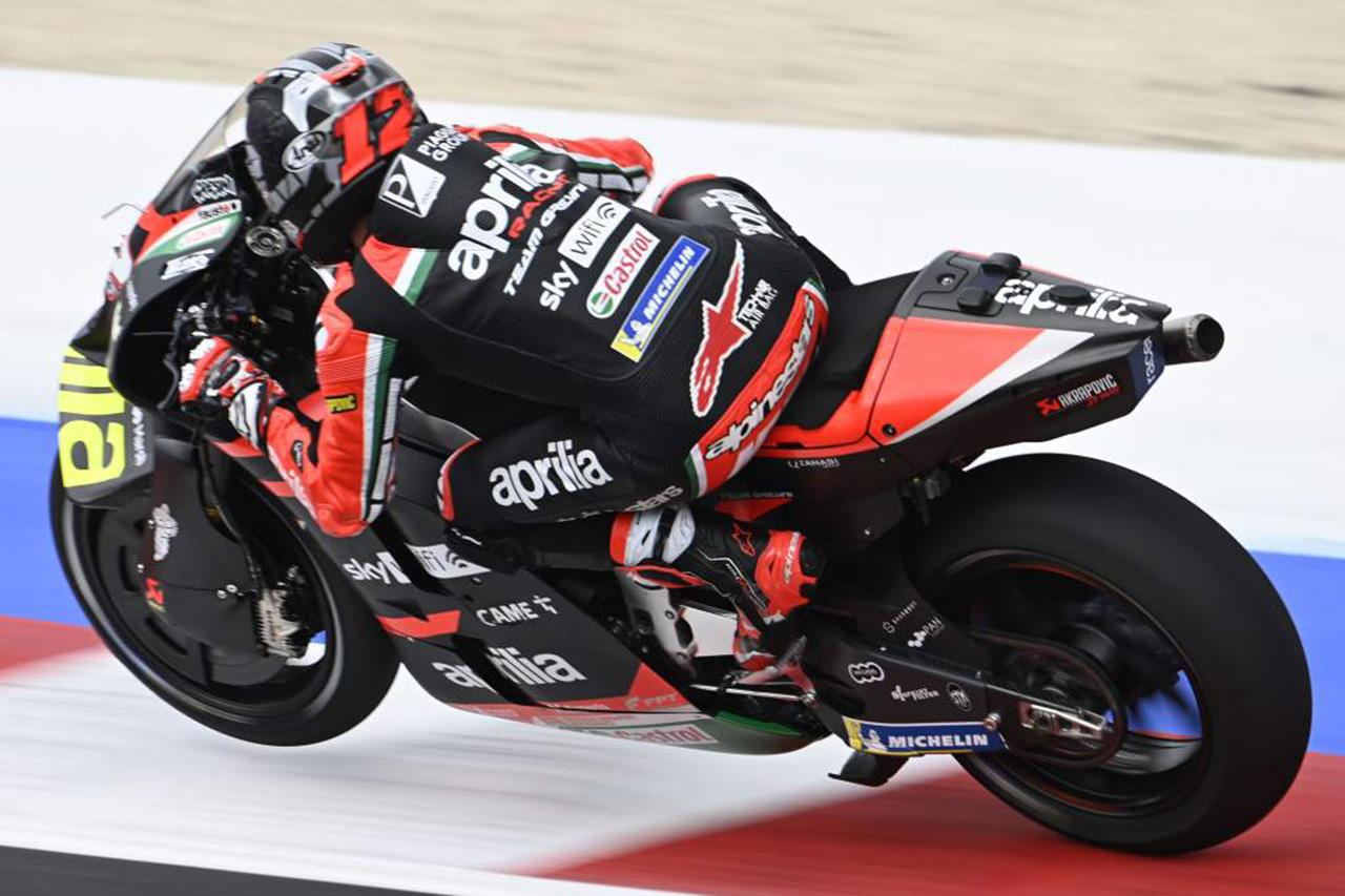 MotoGP サンマリノGP:マーベリック・ビニャーレスが初日トップタイム