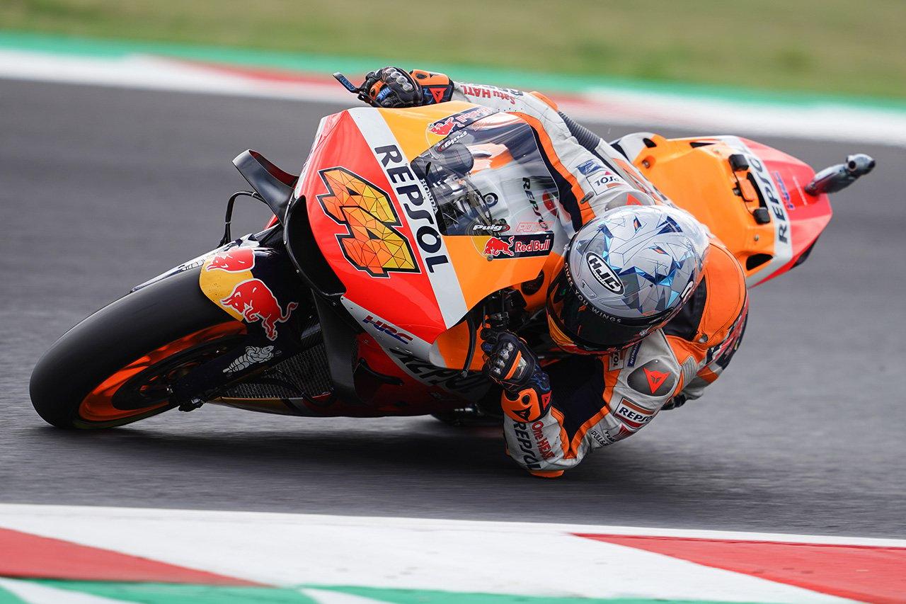 MotoGP:ホンダ 2021年 第14戦 サンマリノGP 予選レポート