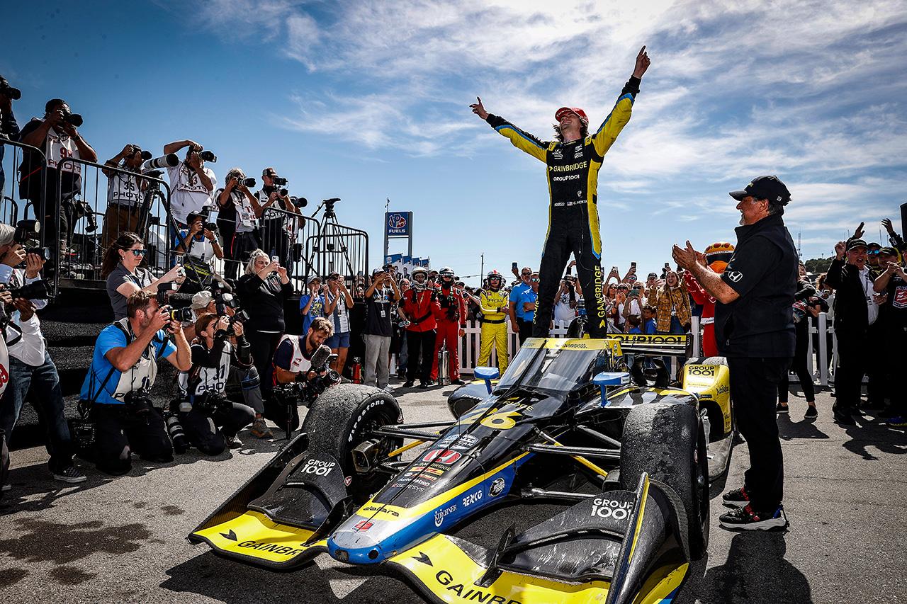 インディカー:コルトン・ハータがポール・トゥ・ウィンで今季2勝目。ホンダが10回目のマニュファクチャラーズ・タイトル獲得