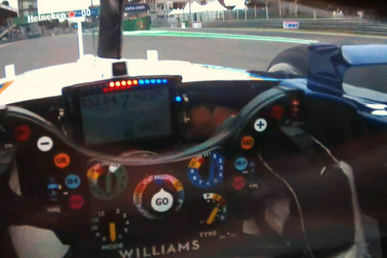 F1チーム、バイザーカメラによるダッシュボードの機密データ漏洩を懸念