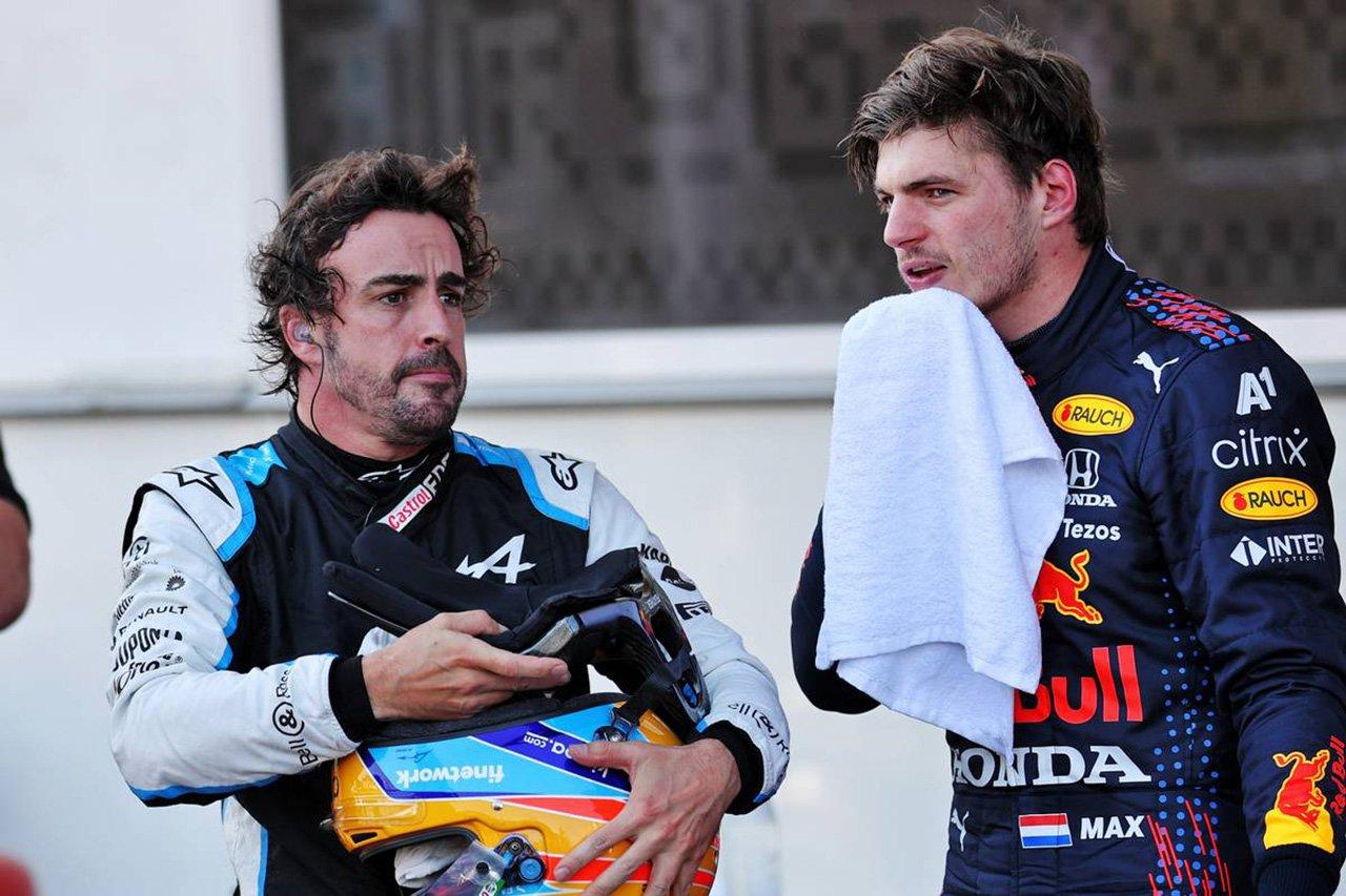 フェルナンド・アロンソ 「レッドブルF1でマックス・フェルスタッペンと組むのは避けたい」