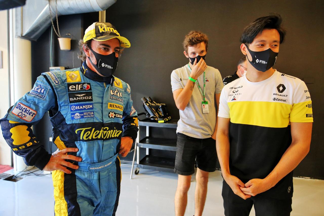 F1:周冠宇 「フェルナンド・アロンソは過去数年で本当に助けてくれた」