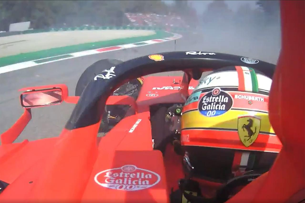 """F1:クラッシュ時のカルロス・サインツのシートベルトの""""伸び""""を分析"""