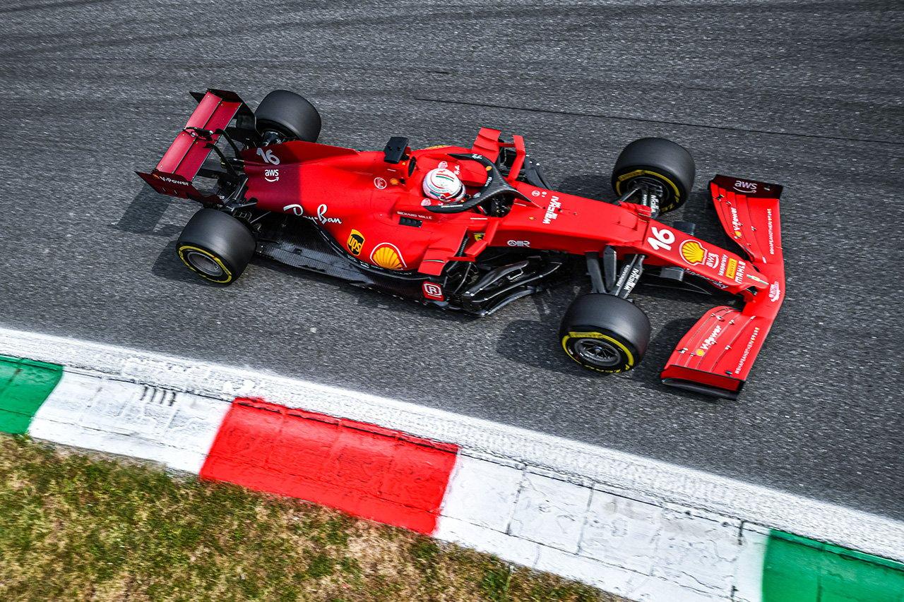 フェラーリF1、10馬力アップと噂の新型PUをルクレールに先行投入 / F1ロシアGP