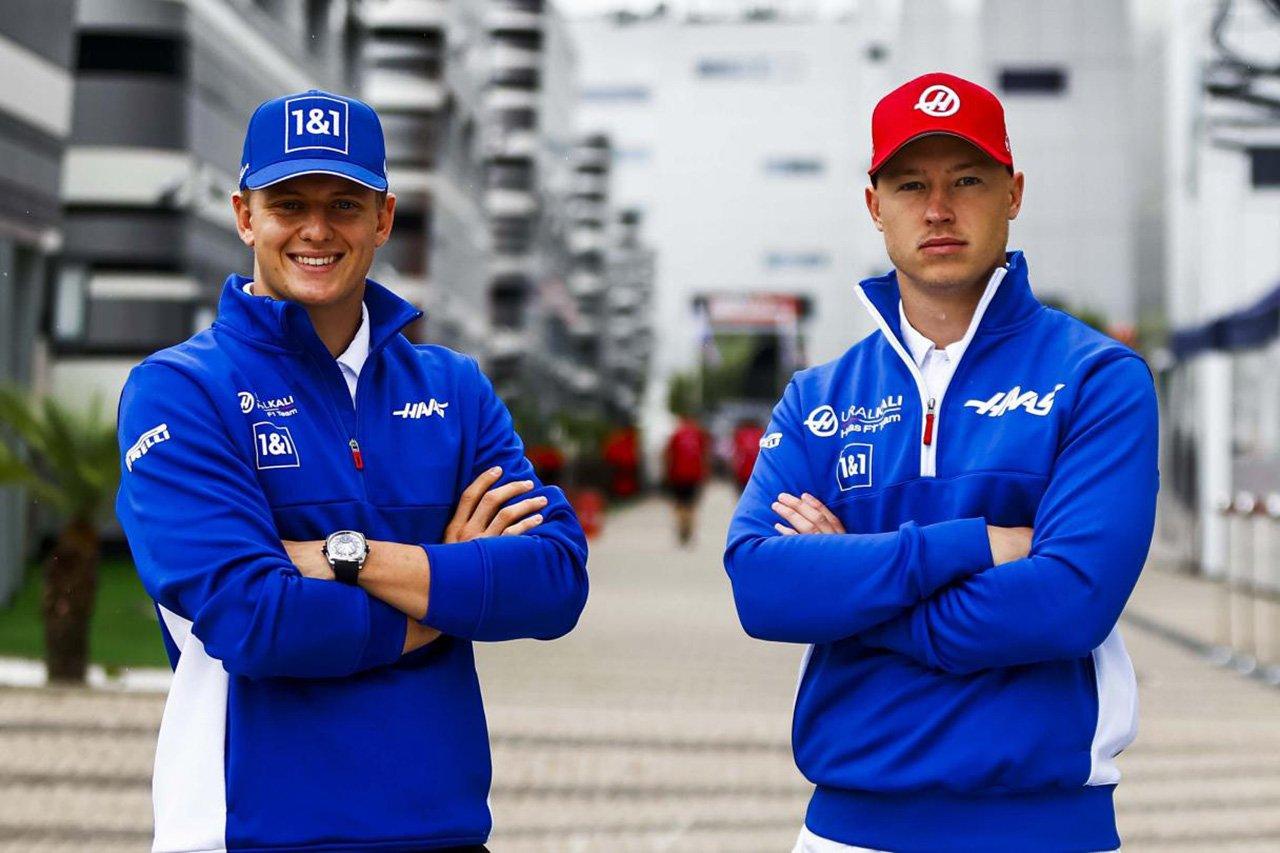 ハースF1、2022年のニキータ・マゼピンとミックシューマッハの残留を発表