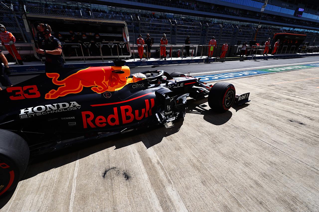 【速報】 F1ロシアGP FP1 結果:マックス・フェルスタッペンは3番手