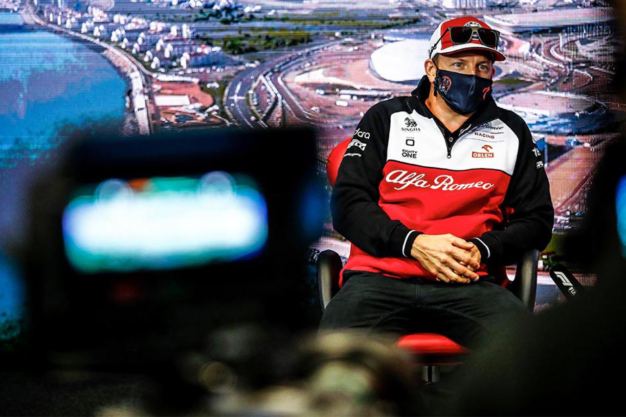 キミ・ライコネン 「隔離期間中はF1レースはフルでは見なかった」 F1ロシアGP記者会見