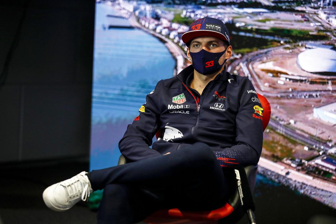 マックス・フェルスタッペン、ハミルトンに反論「僕のことを知らないだけ」 / F1ロシアGP記者会見(2)