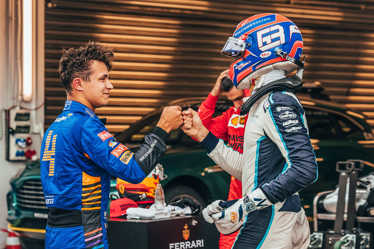 F1ロシアGP 予選:ランド・ノリスが初ポール!マクラーレンは9年ぶり!カルロス・サインツがフロントロー!