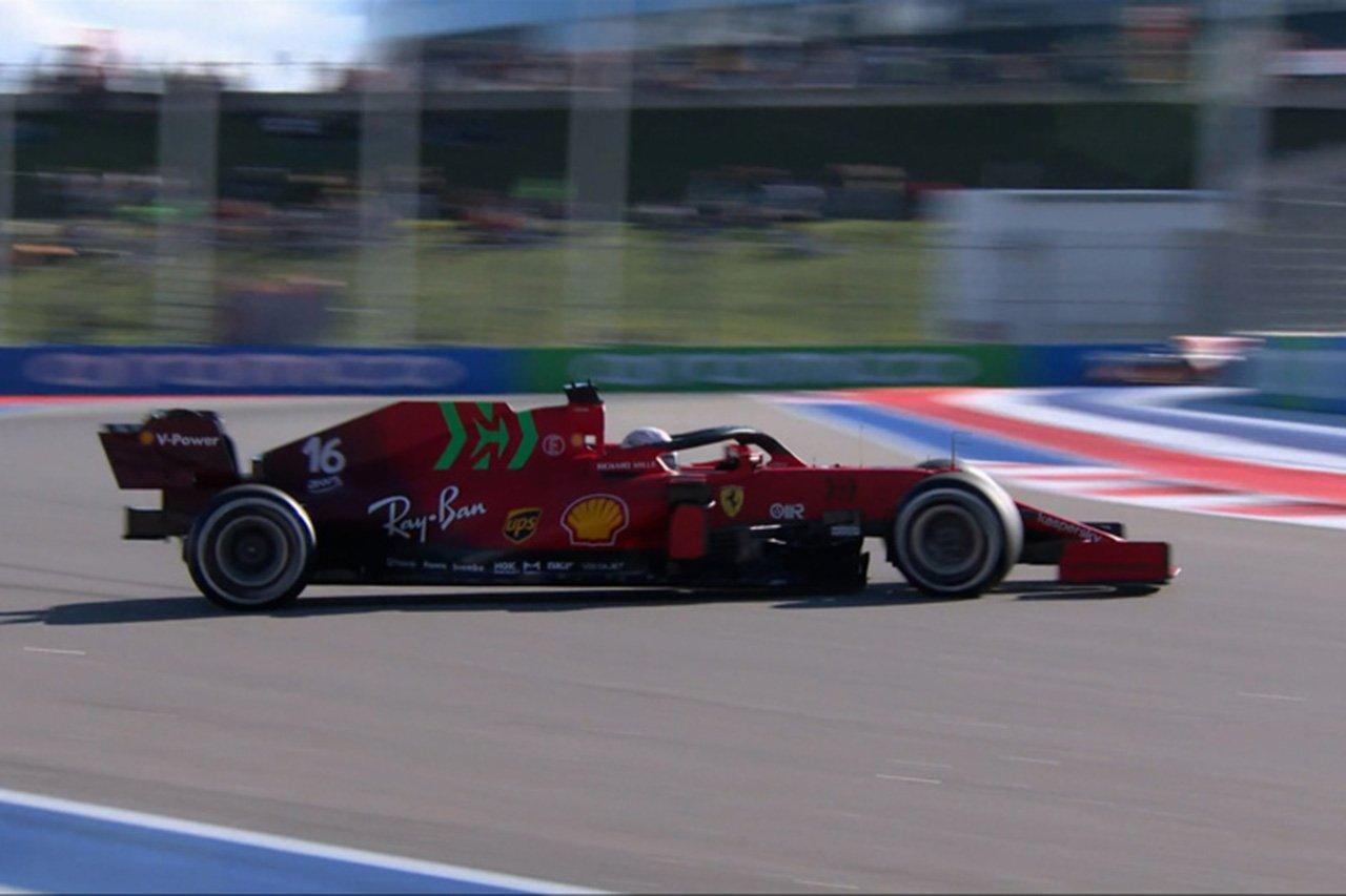 【動画】 2021年 F1ロシアGP フリー走行1回目 ハイライト