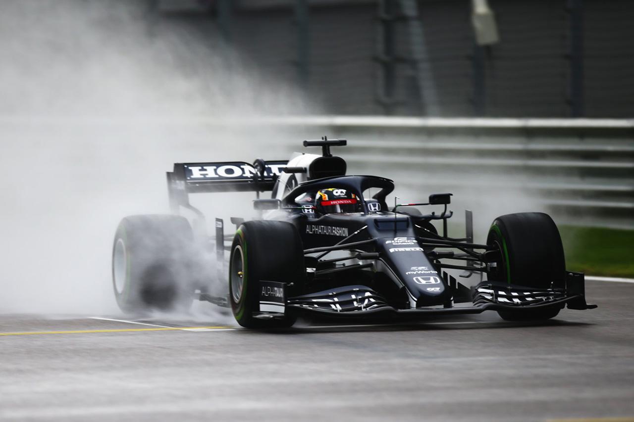 F1ロシアGP 予選Q1 結果:ホンダF1勢はフェルスタッペン以外が突破