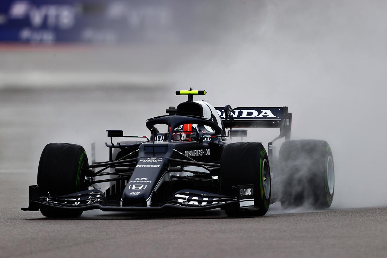 F1ロシアGP 予選Q2 結果:ホンダF1勢はペレス1台のみが突破