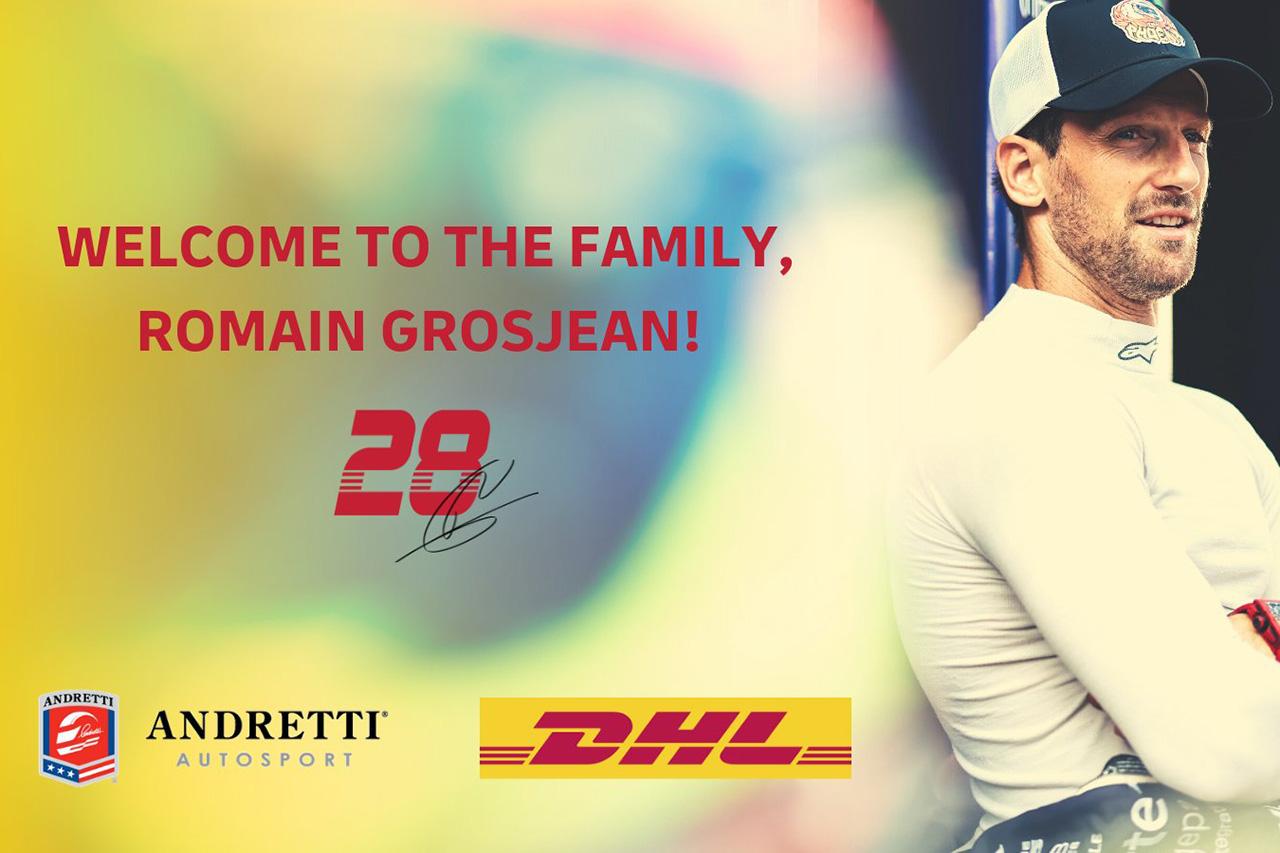 元F1ドライバーのロマン・グロージャン、アンドレッティ・オートスポーツ移籍が決定 / インディカー