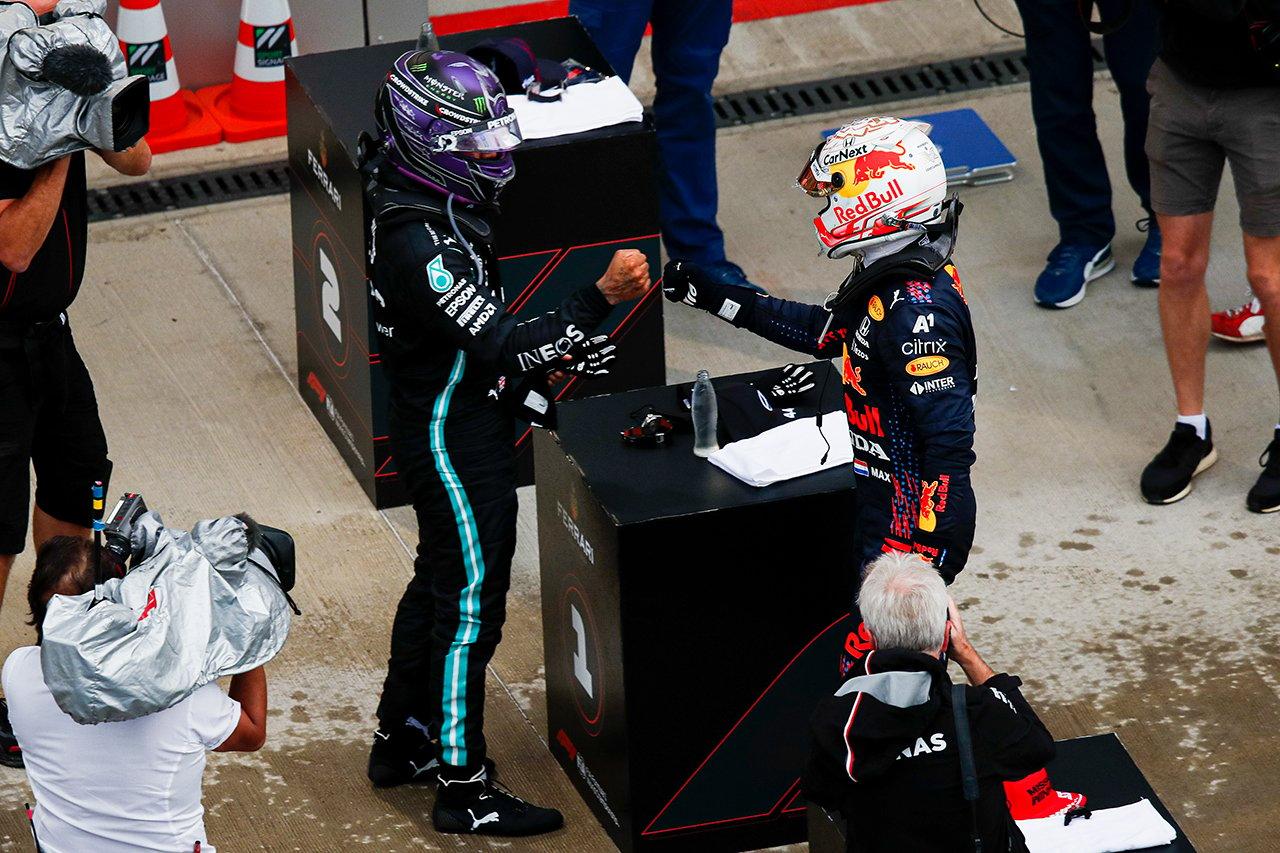 F1ロシアGP 決勝:雨の大波乱!ルイス・ハミルトンが通算100勝目!最後尾スタートのフェルスタッペンが2位表彰台