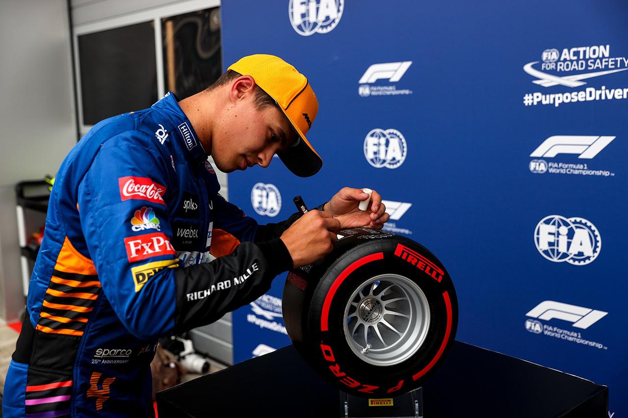 ランド・ノリス(マクラーレン) F1ロシアGP