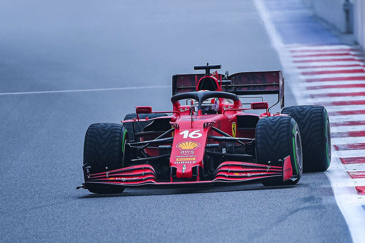 シャルル・ルクレール 「弱点のウェットを学ぶために敢えてQ2で走った」 F1ロシアGP 予選