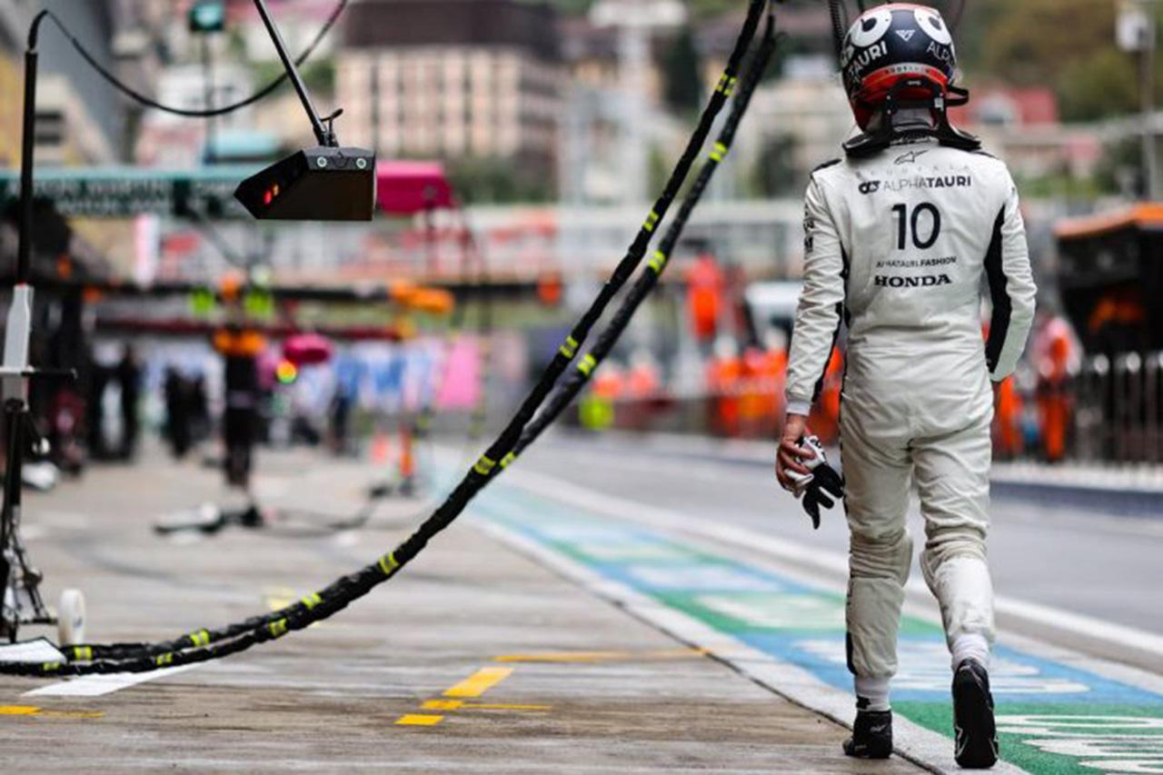 ピエール・ガスリー、チームの判断ミスに怒り爆発「大きな機会損失」 F1ロシアGP 予選