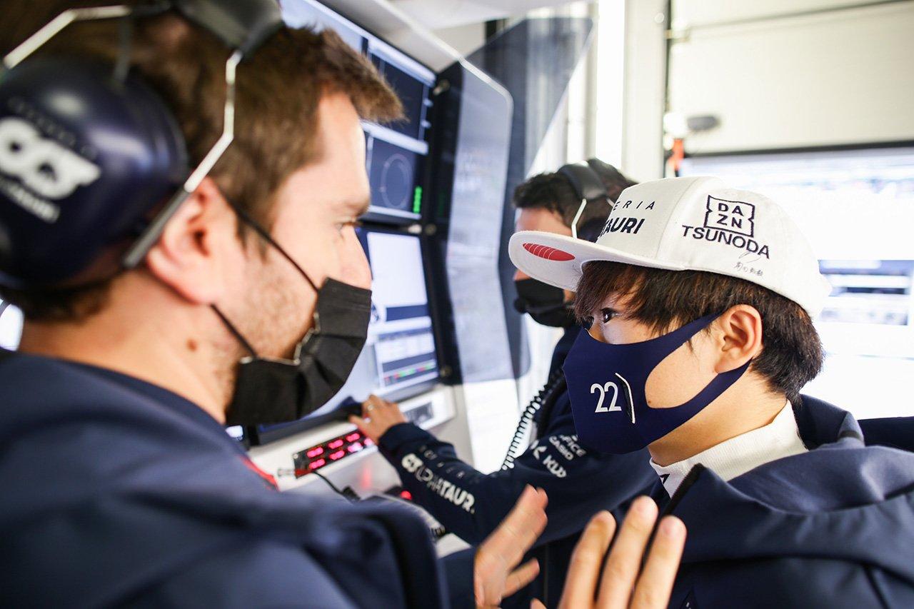 角田裕毅 「Q2に進めたことは僕にとってはステップアップ」 F1ロシアGP 予選