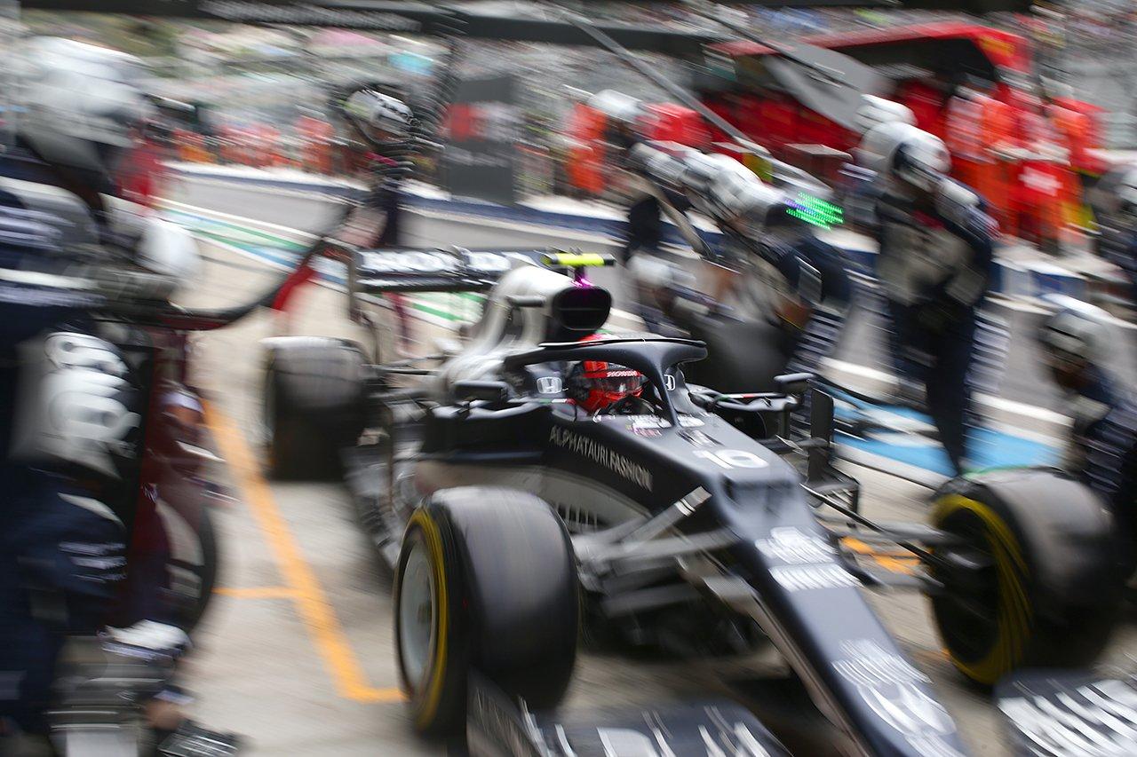 アルファタウリ・ホンダF1 「ドライで続行するギャンブルは失敗だった」 F1ロシアGP 決勝