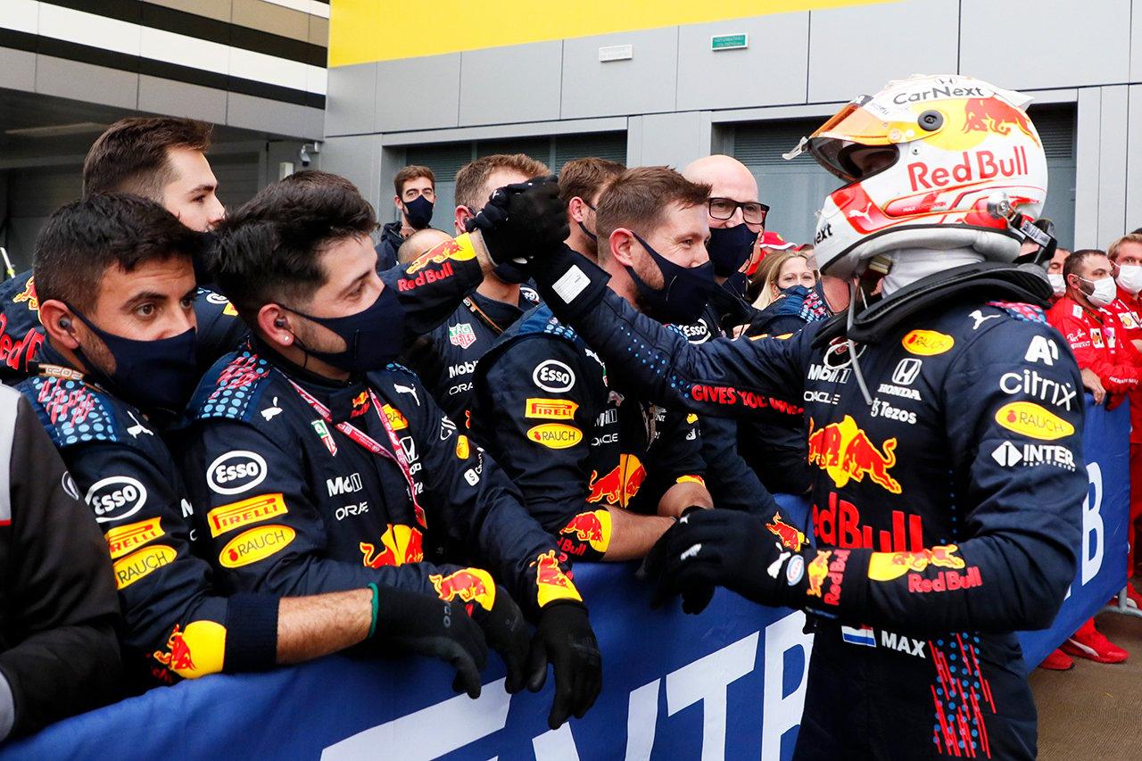 レッドブルF1代表 「フェルスタッペンの2位はまるで優勝したような気分」 F1ロシアGP 決勝
