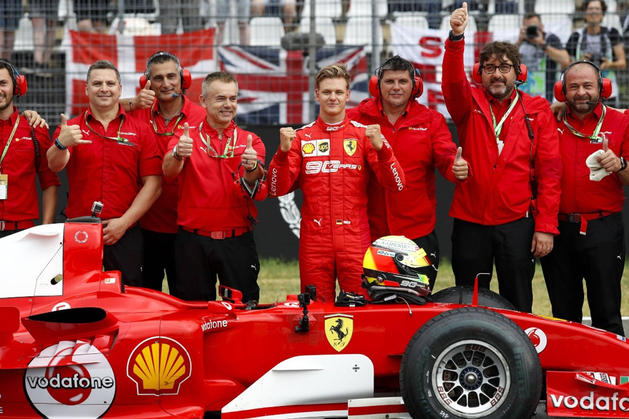 ミック・シューマッハ 「F1にフェラーリ/シューマッハを復活させたい」