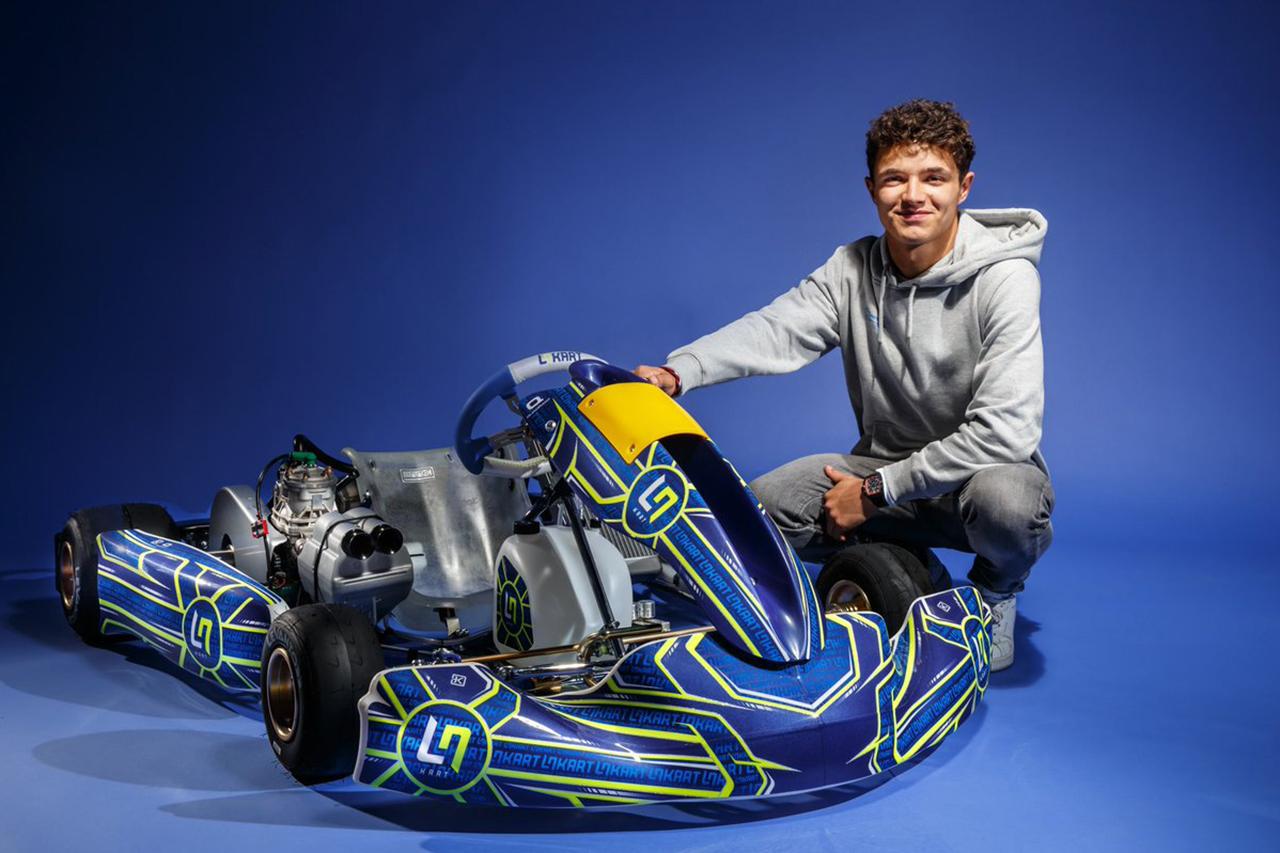 マクラーレンF1のランド・ノリス、カートチーム『LN Racing Kart』を設立