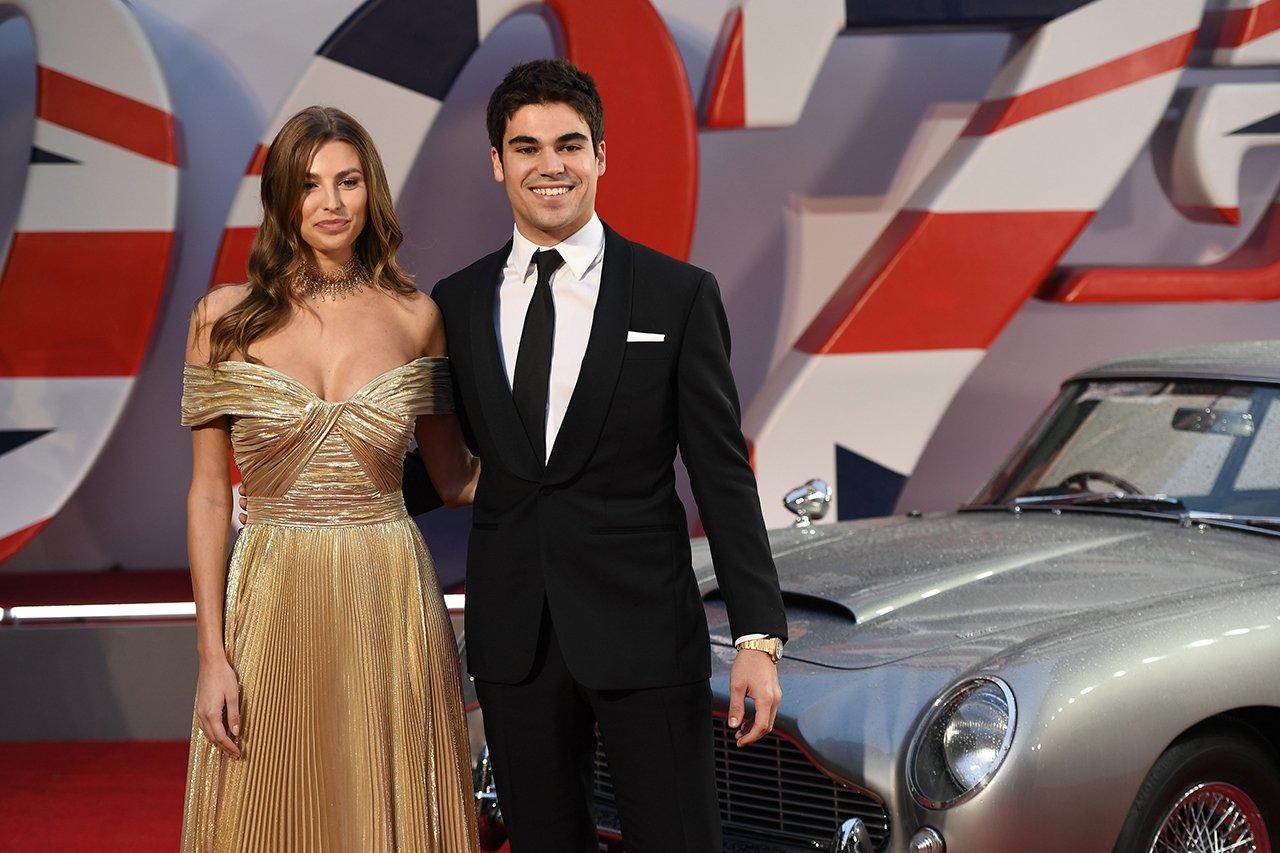 F1ドライバーらが『007 / No Time To Die』のワールドプレミアに登場
