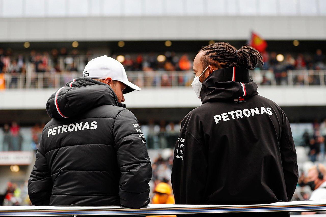 F1:ルイス・ハミルトン 「ボッタスは初めてコミュニケーションをとれた僚友」