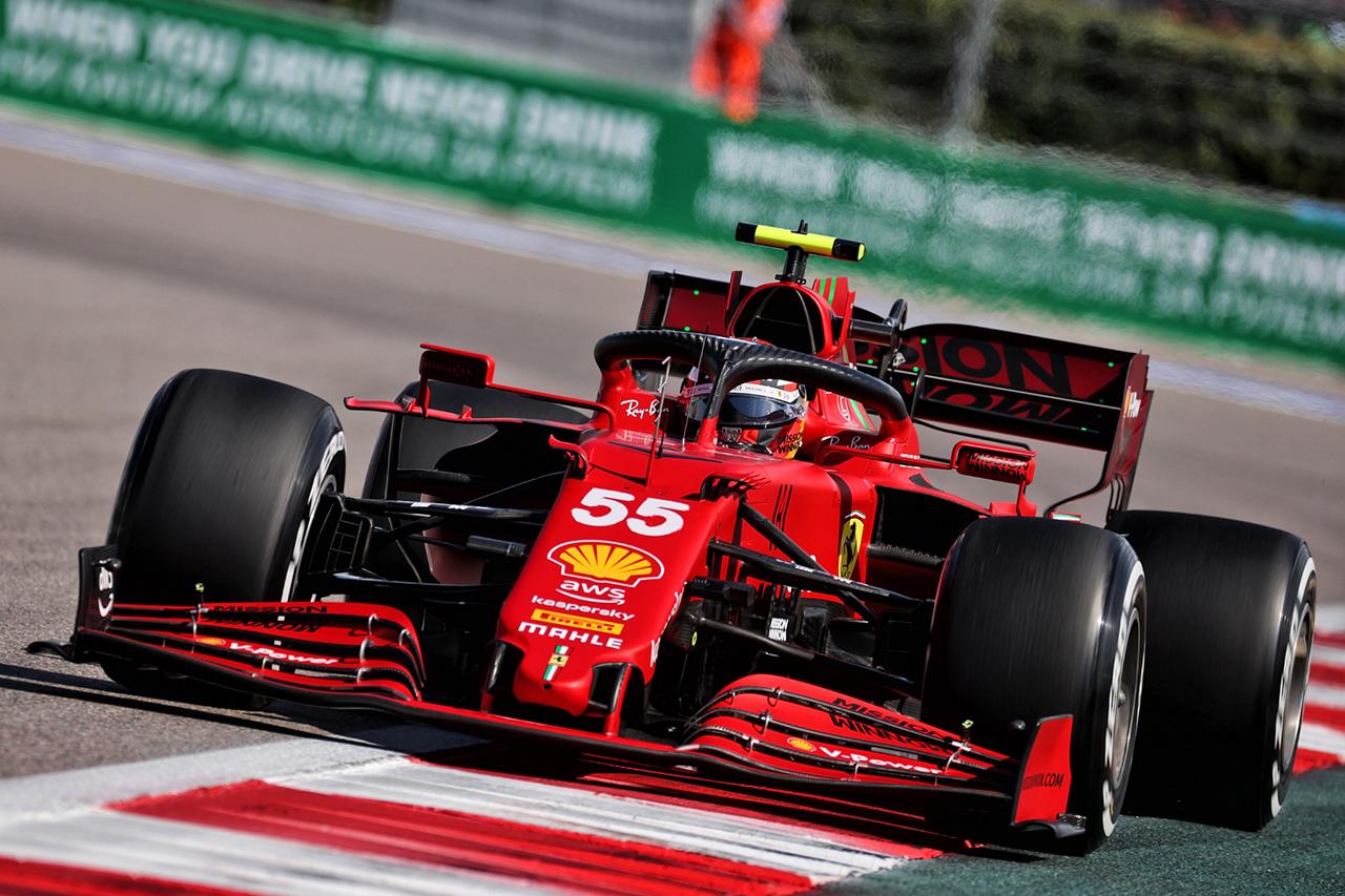 フェラーリF1、トルコGPでカルロス・サインツにアップデート版PUを投入