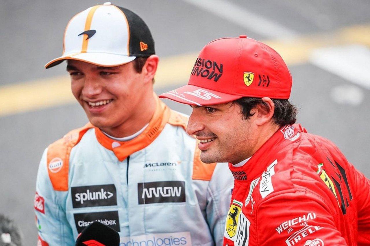 ランド・ノリス 「将来フェラーリF1に移籍する可能性は閉ざさない」
