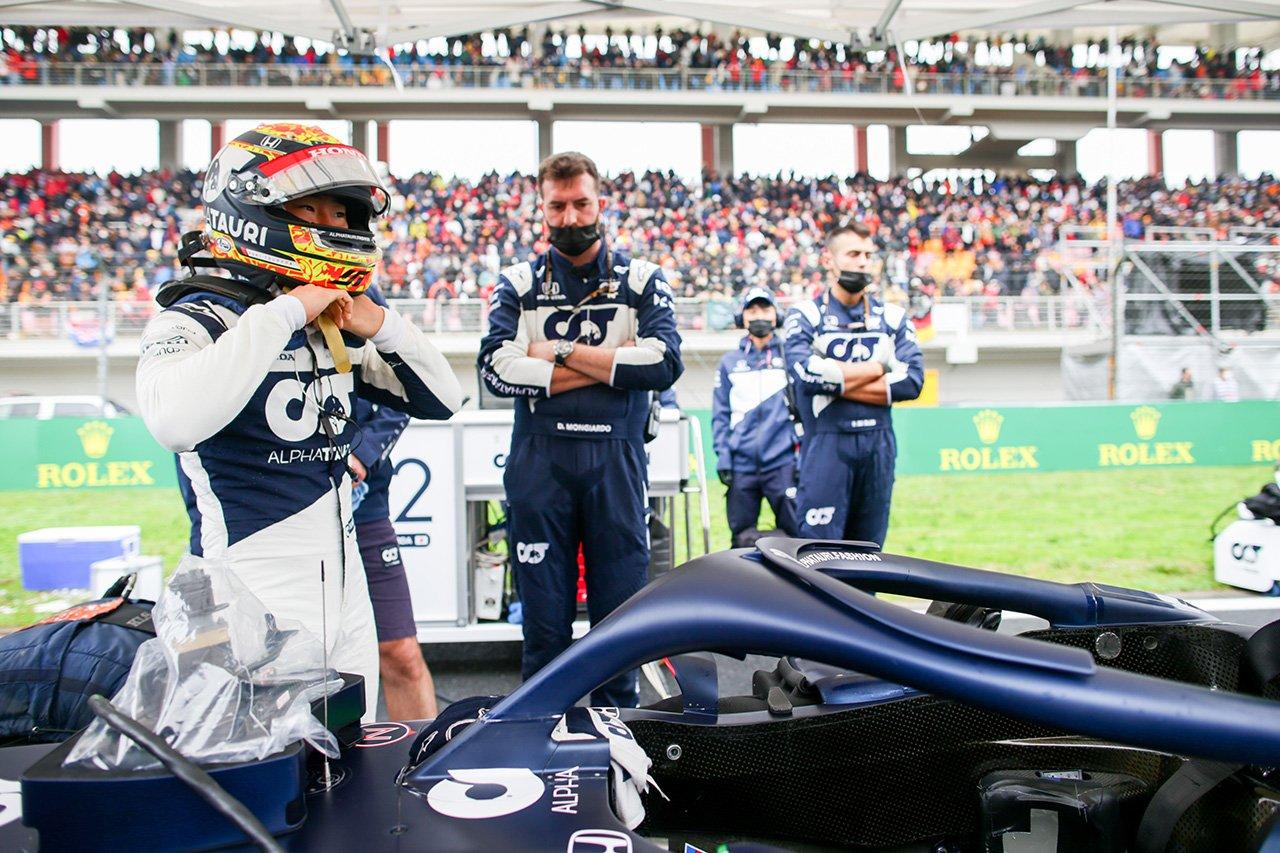 角田裕毅、入賞を逃すスピン「ハミルトンとのバトルでタイヤを使い過ぎた」 アルファタウリ・ホンダ F1トルコGP 決勝