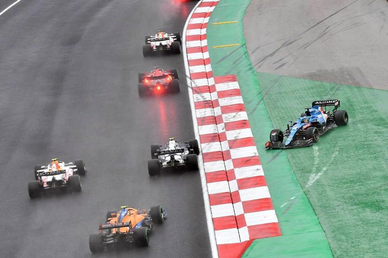ピエール・ガスリー、ペナルティに不服 「行き場はなかった」 F1トルコGP 決勝