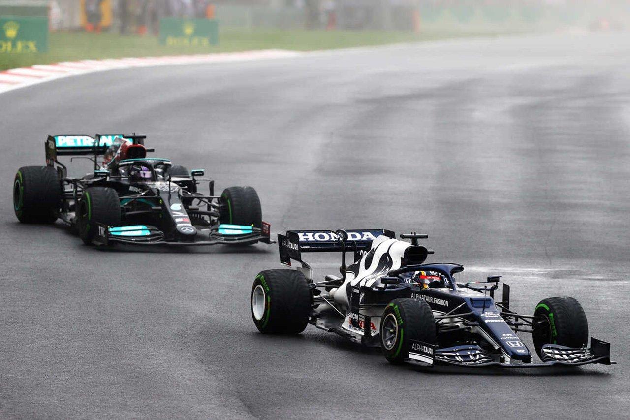 角田裕毅 「ハミルトンを抑えてフェルスタッペンの助けになりたかった」 F1トルコGP 決勝