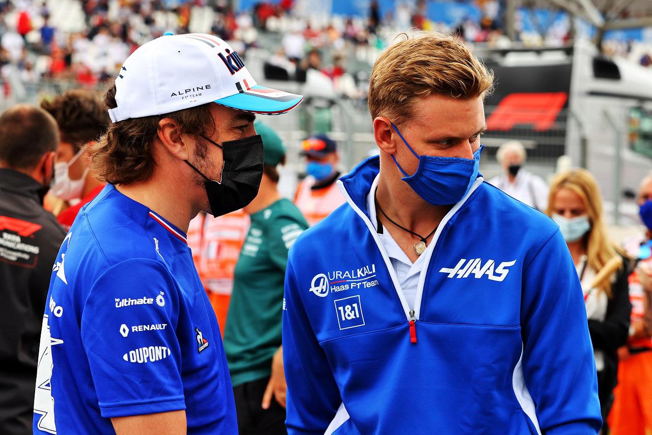 F1:フェルナンド・アロンソ 「ミック・シューマッハに彼の父の面影を感じる」