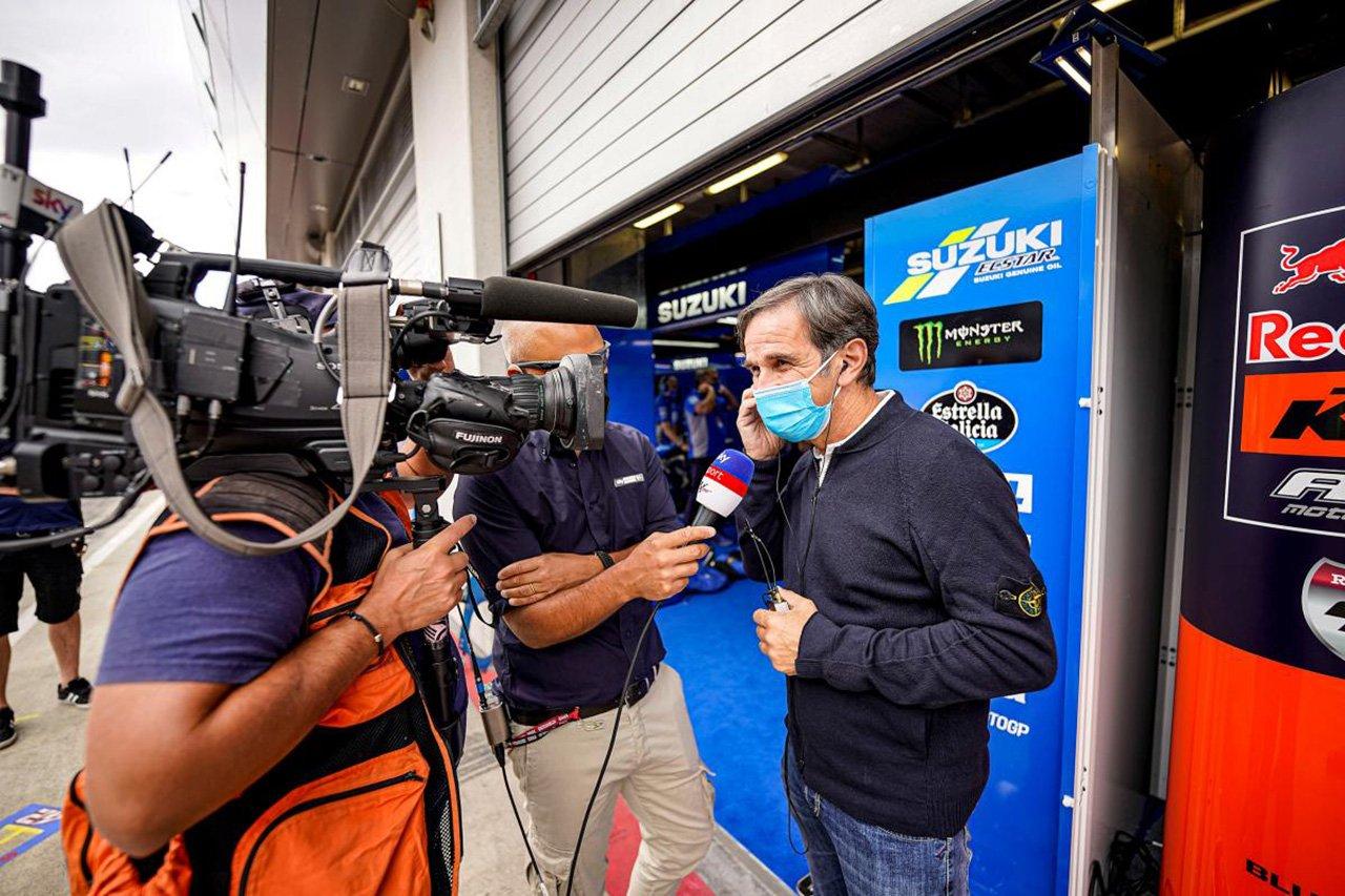 アルピーヌF1のダビデ・ブリビオ、早くもMotoGPへの復帰を目指す?
