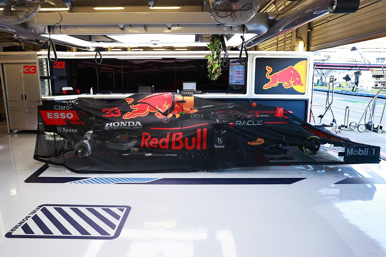 レッドブル・ホンダ、F1アメリカGPでフェルスタッペンのシャシーを交換?